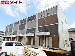 三重県四日市市大井手2丁目の賃貸アパートの外観
