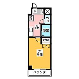 ACTRIUM・K[1階]の間取り
