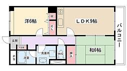 T&T第二ビル[308号室]の間取り