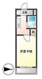 ジュノーム[2階]の間取り