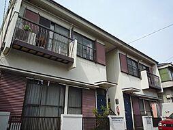 東京都目黒区鷹番2丁目の賃貸アパートの外観