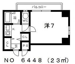 舟橋青山ビル[9階]の間取り