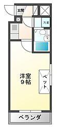 エクセルイン東宿郷[4階]の間取り