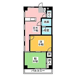 パール25[2階]の間取り
