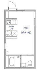 PONANT IKEBUKURO[3階]の間取り