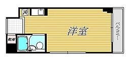 千歳船橋アムフラット[3階]の間取り