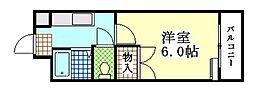 ジュネス35[2階]の間取り