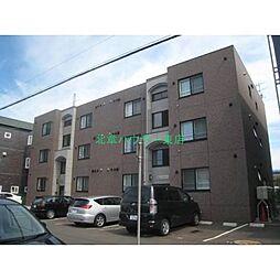北海道札幌市東区北十一条東13丁目の賃貸マンションの外観