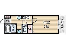 ヴィラージュ吉田[2階]の間取り