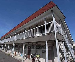 京都府京都市西京区山田北山田町の賃貸アパートの外観