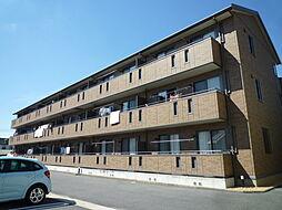 岡山県倉敷市昭和1丁目の賃貸アパートの外観