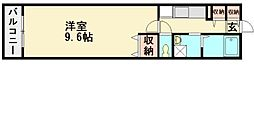 シルフィード[2階]の間取り