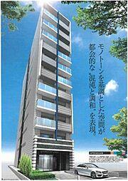 大阪府大阪市中央区和泉町1丁目の賃貸マンションの外観