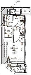 ラフィスタ川崎III[6階]の間取り