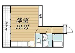 千葉県千葉市若葉区加曽利町の賃貸マンションの間取り
