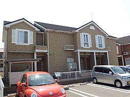 新潟県新潟市北区かぶとやま1丁目の賃貸アパートの外観