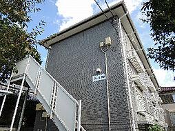 クレール四谷[2階]の外観