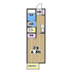 マルチステップ[1階]の間取り