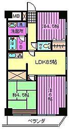 ツカサビル[2階]の間取り
