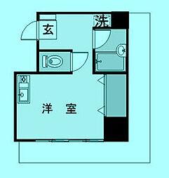 ウィズKYH[4階]の間取り