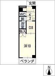 ロイヤル江戸橋[4階]の間取り