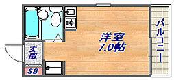 リモージュ岡本[2階]の間取り