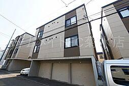北海道札幌市白石区東札幌五条4丁目の賃貸アパートの外観