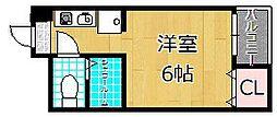 ほーむ21SINMATI[3階]の間取り