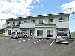 滋賀県甲賀市甲南町新治の賃貸アパートの外観