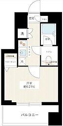 東京都板橋区仲宿の賃貸マンションの間取り