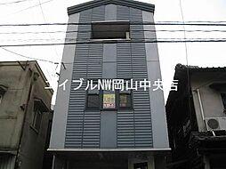 岡山県岡山市中区古京町1丁目の賃貸マンションの外観