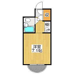 コートプリモ[3階]の間取り
