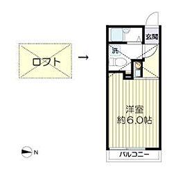 マ・ピエス生田7-A棟[102号室]の間取り
