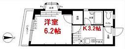 徳山コーポ(TokuyamaCorp)[1階]の間取り