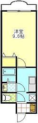 アルカディア・里II[302号室]の間取り