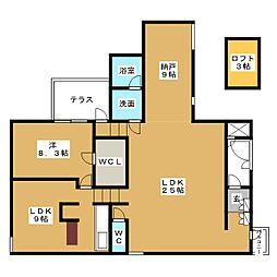 VISCONTI覚王山[4階]の間取り