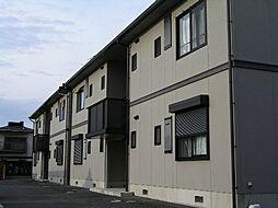 アベリア新家[2階]の外観