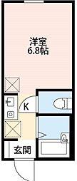 メゾン・ラフィネ亀有[1階]の間取り