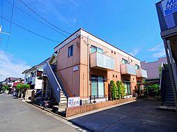 東京都東大和市向原5の賃貸アパートの外観