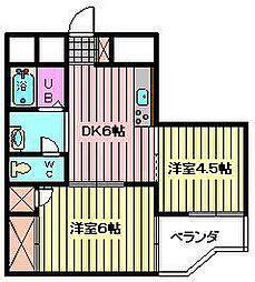 スイングマンション[1階]の間取り