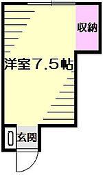 白楽荘[2階]の間取り