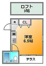アビテ小金井[1階]の間取り