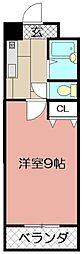 ウインズ浅香I[1106号室]の間取り