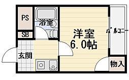 サードニックス[3階]の間取り