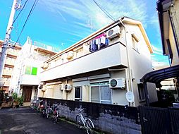 東京都小平市花小金井7の賃貸アパートの外観