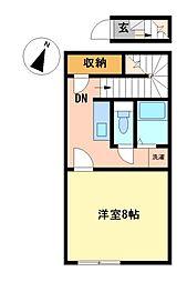 レオネクスト本星崎駅前[2階]の間取り