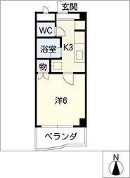 アイシンビル[3階]の間取り