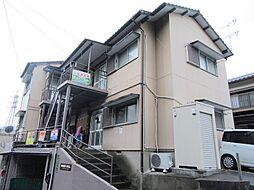 福岡県北九州市戸畑区福柳木2丁目の賃貸アパートの外観
