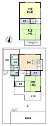 [一戸建] 千葉県佐倉市井野 の賃貸【/】の間取り