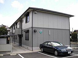 奈良県大和郡山市大宮町の賃貸アパートの外観